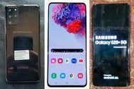 Se filtran las primeras fotos del Samsung Galaxy S20+: tendrá cuatro cámaras