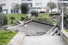 Los vecinos del parking aplastado habían denunciado a la constructora por filtraciones de agua