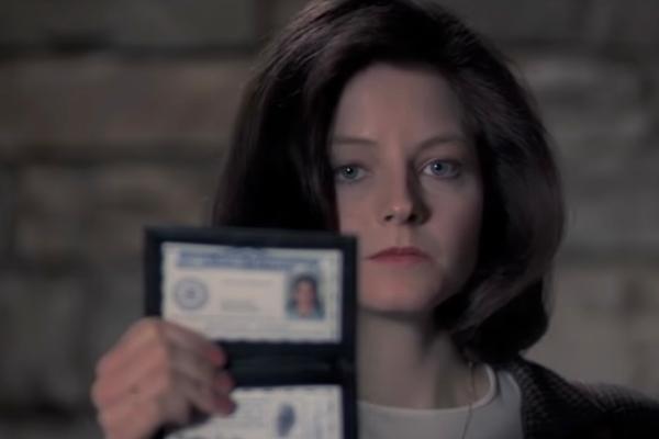 Jodie Foster, como Clarice Starling, en la película, 'El silencio de...