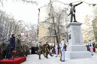 Inauguración del monumento a Los últimos de Filipinas