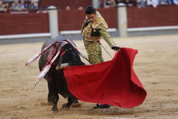 El diestro Alejandro Talavante en la Feria de Otoño de Las Ventas, en...