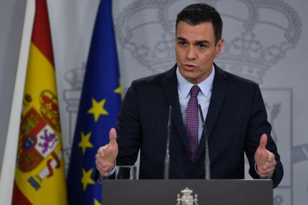 """Pedro Sánchez ve """"impecable"""" nombrar a Dolores Delgado """"fiscal general"""" y estará """"encantado"""" de reunirse con Quim Torra"""