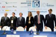 La secretaria de Estado de Comercio, Xiana Méndez Bertolo (3d), en la inauguración del evento.