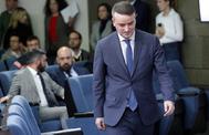 Iván Redondo, tras el primer Consejo de Ministros, este martes, en La Moncloa.