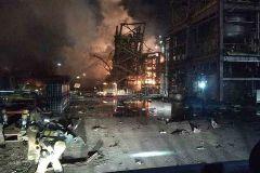 Primeras imágenes del interior  de la planta tras el incendio