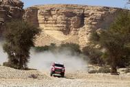 Fernando Alonso, durante esta edición del Dakar.