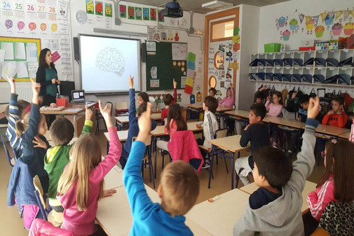 En la primera parte se introduce a los alumnos en el estudio de los vertebrados.