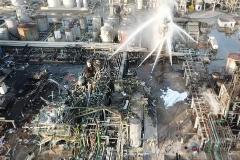 Una tapa del reactor de Tarragona voló 3 kilómetros y mató a un hombre en su casa