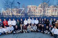 Algunos de los integrantes de las nuevas empresas acogidas en Lanzadera.