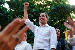 El presidente encargado de Venezuela, Juan Guaidó.