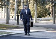 Rodríguez Uribes, a su llegada al primer Consejo de Ministros.