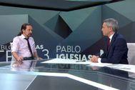 Así ha sido la tensa entrevista entre Vicente Vallés y Pablo Iglesias