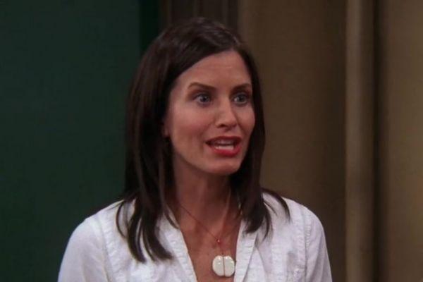 Courteney Cox juega a ¿Qué personaje de Friends eres? y no le sale...