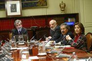 Reunión del Consejo General del Poder Judicial.