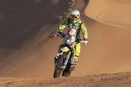 Haradh (Saudi Arabia).- Dutch Edwin <HIT>Straver</HIT> in action during stage eleven of the Rally Dakar 2020 between Shubaytah and Haradh, in Saudi Arabia, 16 January 2020. (Arabia Saudita) EPA/