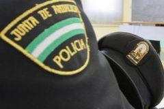 Detalle del uniforme de la Policía Autonómica de Andalucía.