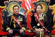 """El matrimonio indonesio autoproclamado """"reyes del mundo""""."""