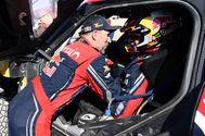 Las imágenes de la celebración del tercer Dakar de Carlos Sainz