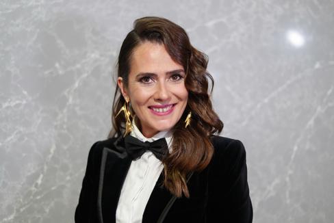 Anna Allen, durante la gala de los Premios Feroz 2020