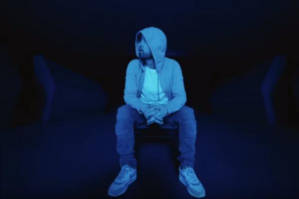 Un fotograma de 'Darkness', el nuevo vídeo de Eminem.