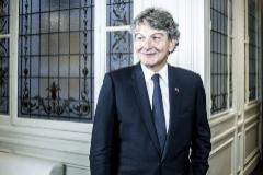 El comisario europeo de Mercado Interior, Thierry Breton.