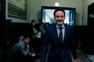 El portavoz adjunto de Ciudadanos en el Congreso, Edmundo Bal, el pasado miércoles antes de la Junta de Portavoces.