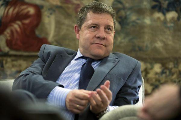 El presidente de Castilla-La Mancha, Emiliano Garc