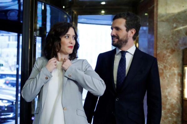 -FOTODELDÍA- GRAF2790. MADRID.- La presidenta de la Comunidad de...