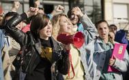 Manifestación contra la Guerra del Golfo en 'Cuéntame'.
