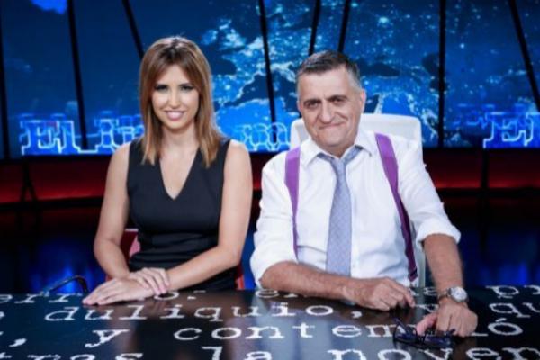 Sandra Sabatés y el Gran Wyoming, presentadores de 'El intermedio', programa producido por Globomedia.