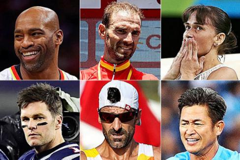 Sainz no está solo: otros deportistas que siguen desafiando al tiempo