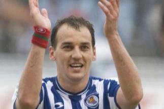 Darko Kovacevic, durante un partido con la Real.