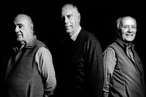 De izquierda a derecha, Eduardo, Pablo y José Luis Lozano.