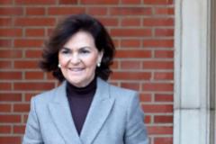 Carmen Calvo (62), vicepresidenta y ministra de la Presidencia, Relaciones con las Cortes y Memoria Democrática