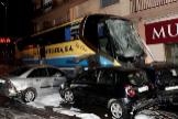 """Pasajeros del autobús que atropelló mortalmente a dos niños: """"El conductor gritaba  que no tenía frenos"""""""