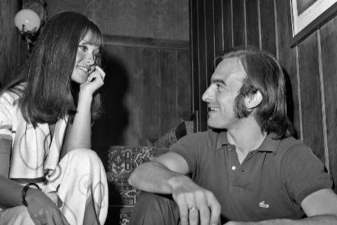 Pepa Flores y su marido, Carlos Goyanes, en una imagen de lso años 70.