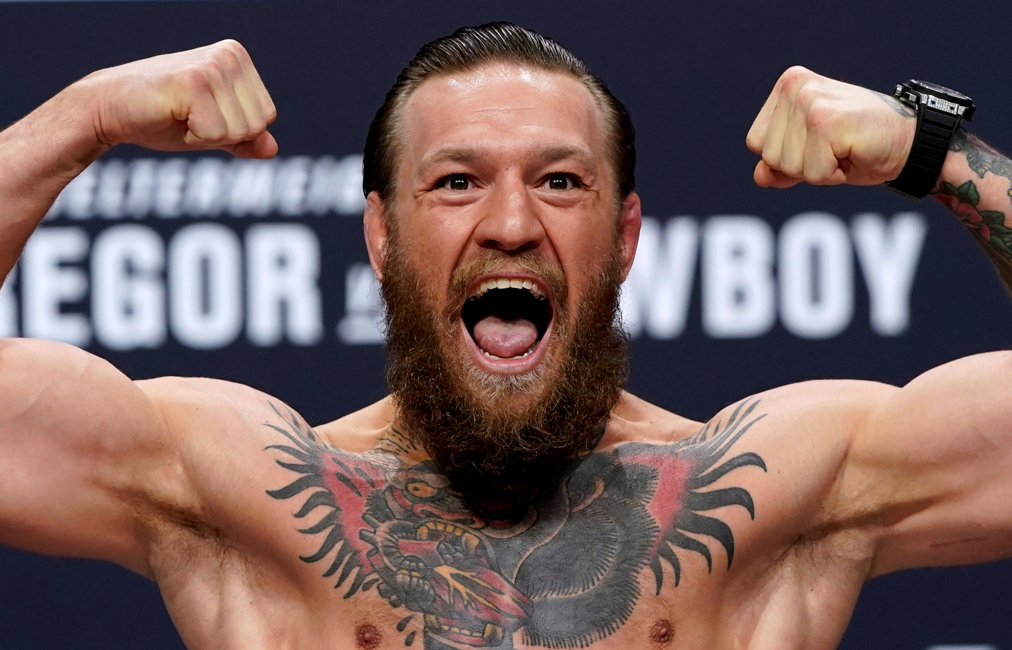 UFC 246 - Conor <HIT>McGregor</HIT> v Donald Cerrone Weigh-In