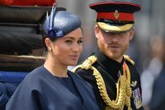 Meghan Markle y el Príncipe Harry, en una imagen de 2019.