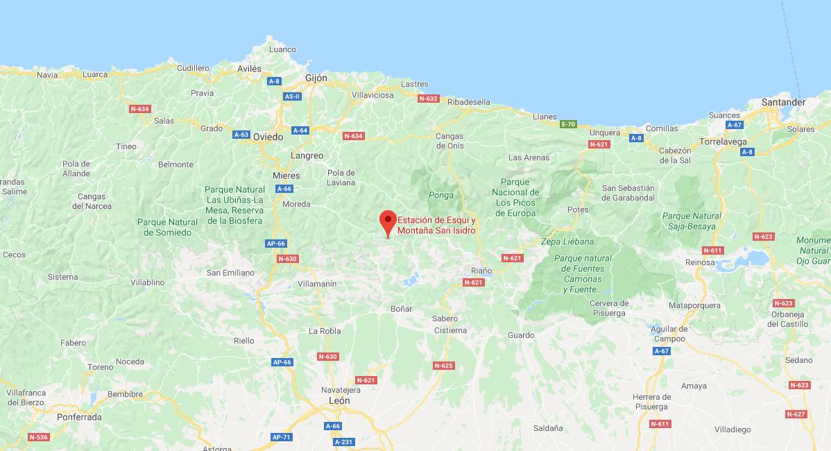 Un hombre de 44 años muere atropellado mientras ponía las cadenas en su coche en Asturias
