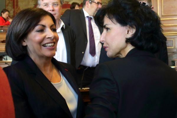 France&apos;s newly elected Socialist Paris mayor Anne <HIT>Hidalgo</HIT>...