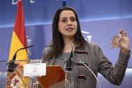 La diputada de Cs, Inés Arrimadas.