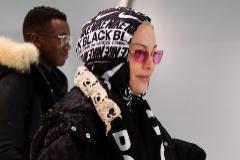 Madonna, el pasado 28 de diciembre, en el aeropuerto JFK de Nueva york.