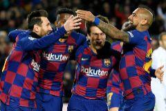 Con Setién todo sigue igual: Messi resuelve ante el Granada