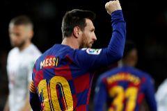 Con Setién todo sigue igual: Messi resuelve ante un Granada con 10