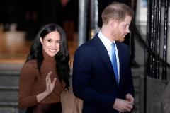 El príncipe Enrique y su esposa Meghan, en una foto reciente.