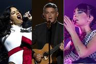Rosalía, Alejandro Sanz y Aitana, entre los más nominados en los Premios Odeón