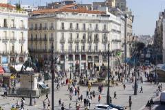 Estado actual de la Puerta del Sol, en Madrid