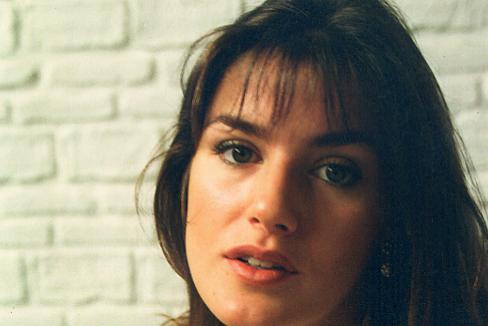 Letizia Ortiz, fotografiada en 1996 en Guadalajara (México).
