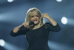 Bonnie Tyler, en una actuación en Suecia.