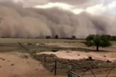 La nube de polvo